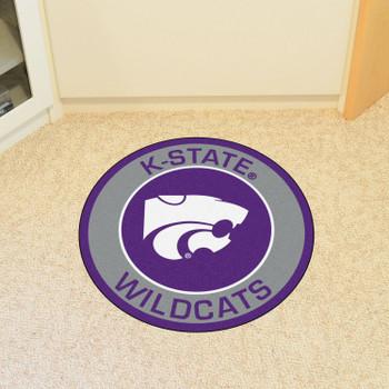 "27"" Kansas State University Roundel Round Mat"