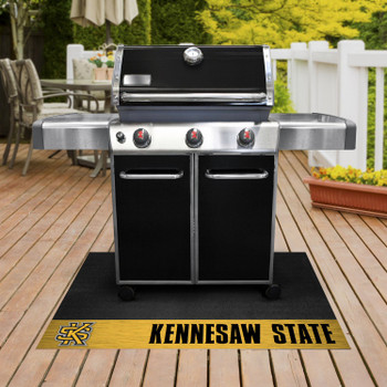 "26"" x 42"" Kennesaw State University Grill Mat"