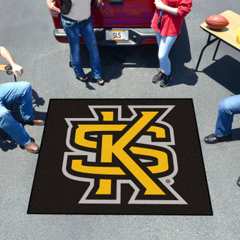 "59.5"" x 71"" Kennesaw State University Black Tailgater Mat"