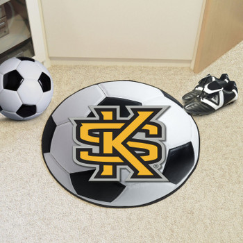 "27"" Kennesaw State University Soccer Ball Round Mat"