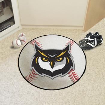 "27"" Kennesaw State University Owls Baseball Style Round Mat"