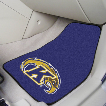 Kent State University Blue Carpet Car Mat, Set of 2