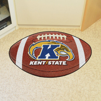 "20.5"" x 32.5"" Kent State University Football Shape Mat"