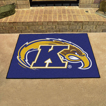 "33.75"" x 42.5"" Kent State University All Star Blue Rectangle Mat"