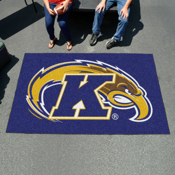 "59.5"" x 94.5"" Kent State University Blue Rectangle Ulti Mat"