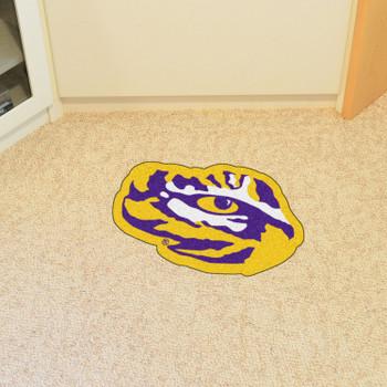"""Louisiana State University Mascot Mat - """"Tiger Eye"""" Logo"""