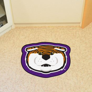 "Louisiana State University Mascot Mat - ""Mike The Tiger"" Logo"