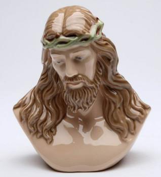 Jesus Bust Porcelain Sculpture