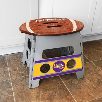 Louisiana State University Folding Step Stool