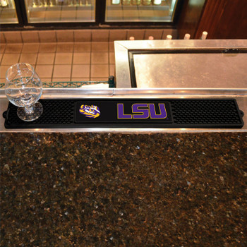 Louisiana State University Vinyl Drink Mat