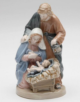 Holy Family Porcelain Sculpture