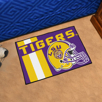 "19"" x 30"" Louisiana State University Uniform Purple Rectangle Starter Mat"