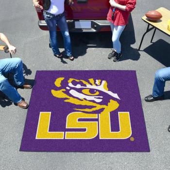 """59.5"""" x 71"""" Louisiana State University Purple Tailgater Mat"""