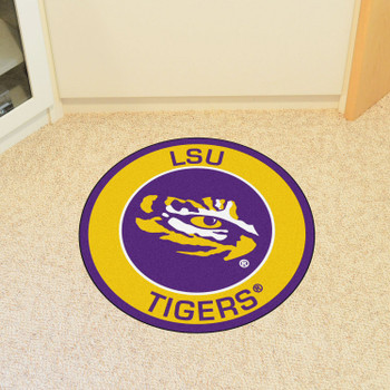 "27"" Louisiana State University Roundel Round Mat"