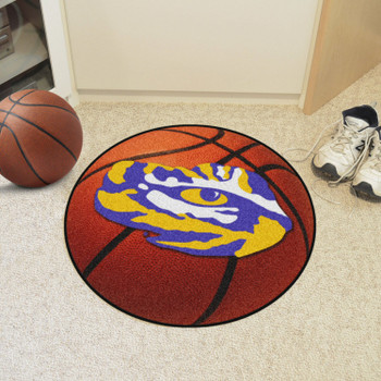 "27"" Louisiana State University Basketball Style Round Mat"