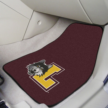 Loyola University Chicago Maroon Carpet Car Mat, Set of 2