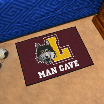 "19"" x 30"" Loyola University Chicago Man Cave Starter Maroon Rectangle Mat"