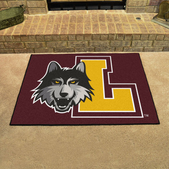 "33.75"" x 42.5"" Loyola University Chicago All Star Maroon Rectangle Mat"