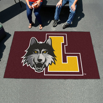 "59.5"" x 94.5"" Loyola University Chicago Maroon Rectangle Ulti Mat"
