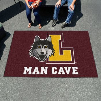 "59.5"" x 94.5"" Loyola University Chicago Man Cave Maroon Rectangle Ulti Mat"