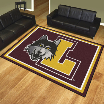 8' x 10' Loyola University Chicago Maroon Rectangle Rug