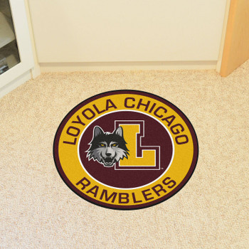 "27"" Loyola University Chicago Roundel Round Mat"