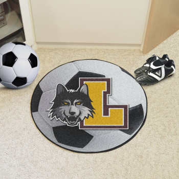 "27"" Loyola University Chicago Soccer Ball Round Mat"