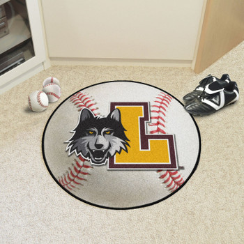 "27"" Loyola University Chicago Baseball Style Round Mat"
