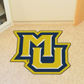 "Marquette University Mascot Mat - ""MU"" Logo"