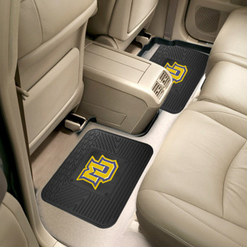 Marquette University Heavy Duty Vinyl Car Utility Mats, Set of 2