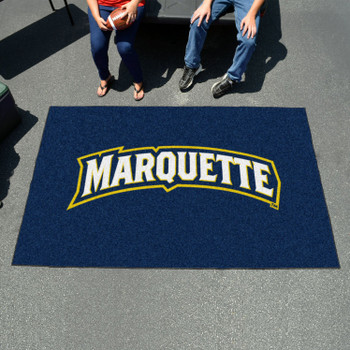 "59.5"" x 94.5"" Marquette University Navy Blue Rectangle Ulti Mat"