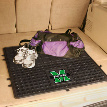 "31"" Marshall University Heavy Duty Vinyl Cargo Trunk Mat"
