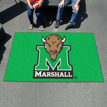 "59.5"" x 94.5"" Marshall University Green Rectangle Ulti Mat"