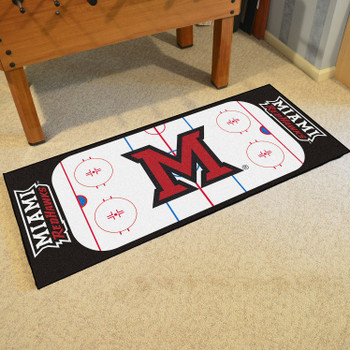 "30"" x 72"" Miami University (OH) Rink Runner Mat"