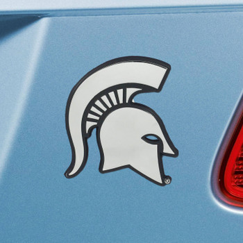 Michigan State University Chrome Emblem, Set of 2