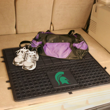 "31"" Michigan State University Heavy Duty Vinyl Cargo Trunk Mat"