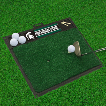 "20"" x 17"" Michigan State University Golf Hitting Mat"
