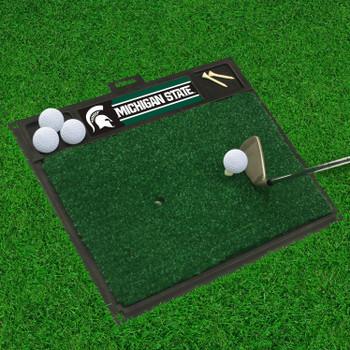 """20"""" x 17"""" Michigan State University Golf Hitting Mat"""