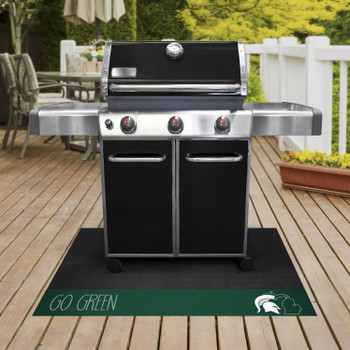 Michigan State University Southern Style Grill Mat