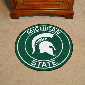 "27"" Michigan State University Roundel Round Mat"