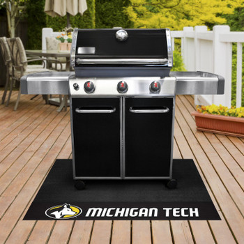 "26"" x 42"" Michigan Tech University Grill Mat"