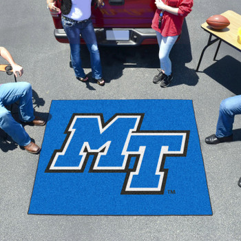 "59.5"" x 71"" Middle Tennessee State University Blue Tailgater Mat"