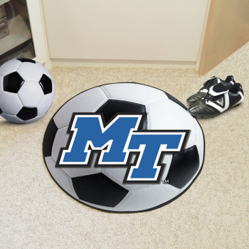 "27"" Middle Tennessee State University Soccer Ball Round Mat"
