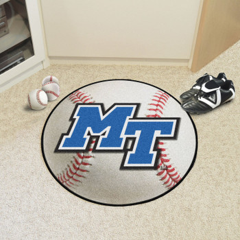"27"" Middle Tennessee State University Baseball Style Round Mat"