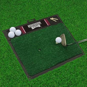 "20"" x 17"" Mississippi State University Golf Hitting Mat"