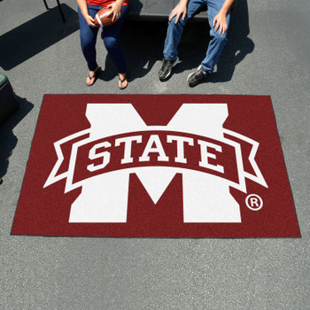 "59.5"" x 94.5"" Mississippi State University Maroon Rectangle Ulti Mat"