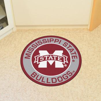 "27"" Mississippi State University Roundel Round Mat"