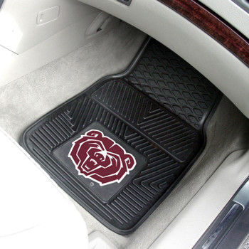 Missouri State University Heavy Duty Vinyl Front Black Car Mat, Set of 2