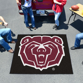 "59.5"" x 71"" Missouri State University Black Tailgater Mat"