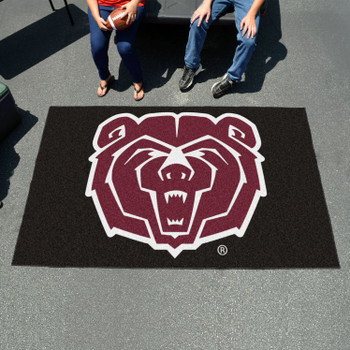 "59.5"" x 94.5"" Missouri State University Black Rectangle Ulti Mat"